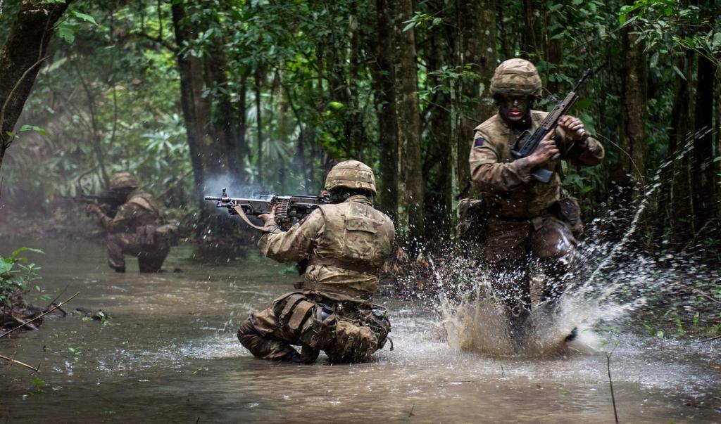 British Military Challenge